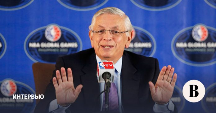 As the NBA began to earn billions of dollars with David stern