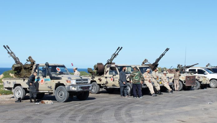 Army of Haftarot withdraw its units from Tripoli in connection with Eid al-Bayram