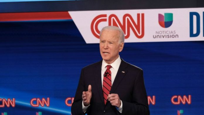 Biden criticized trump for his decision to withdraw from the Treaty on open skies