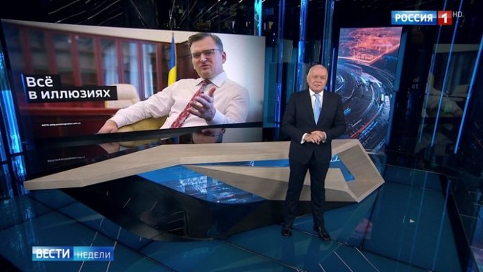 Kiselev commented on the dreams of the Ukrainian