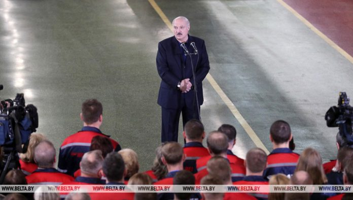 Lukashenko shared his views about the second wave and the female President
