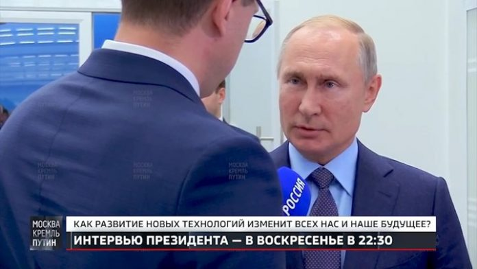 Putin announced that Russian arms made it impossible