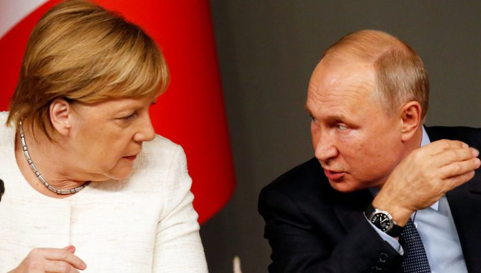 Seibert revealed to aspire to Merkel's relationship with Putin