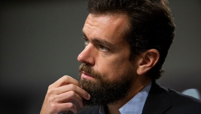 The head of Twitter supported factchecking messages trump
