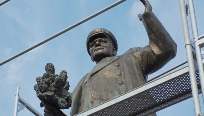 The Ministry of defence of the Czech Republic may not transfer Russia the monument to Marshal Konev