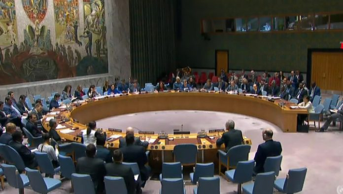 The UN security Council first heard the real voice of the Crimean people