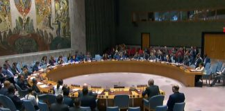 The UN security Council meeting on Crimea was not the delegation of the United States, Ukraine, Estonia and Britain