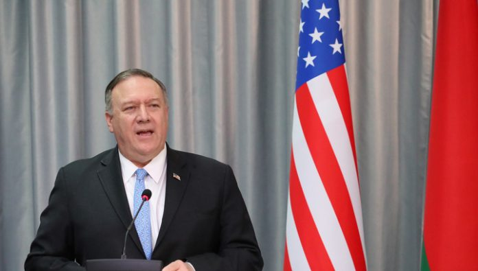 The US state Department criticized China and Russia