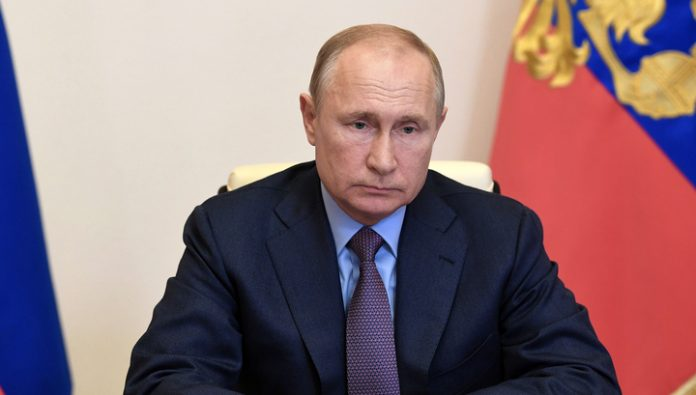 After 15:00 Putin will deliver an address to the citizens