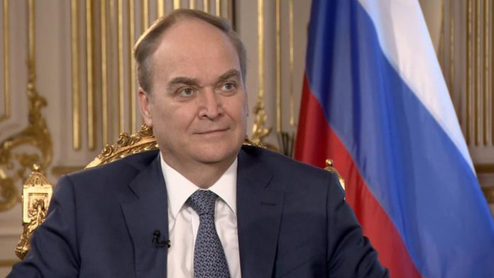 Antonov: US military plans openly aimed at the containment of Russia and China