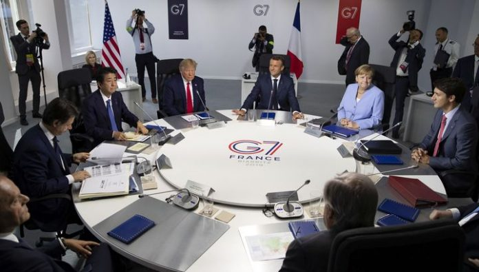 Donald trump intends to expand the number of participants in the G7 to counter China
