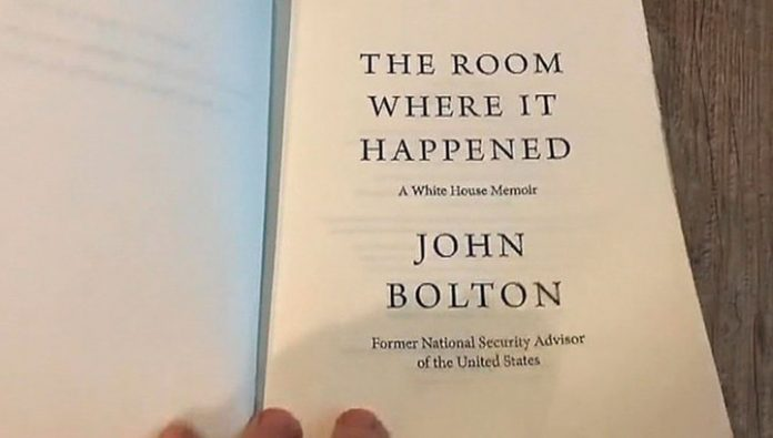 Fictional stories or truthful revelation? In the Network appeared the book of Bolton about trump