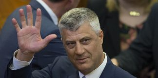 Hashim Thaci, will resign if the court approves the charges against him