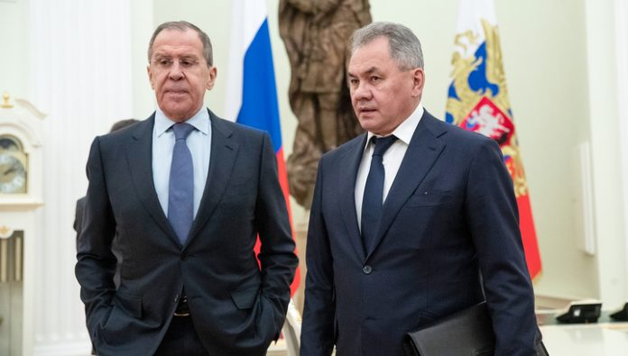 Lavrov and Shoigu are sent to the talks in Turkey