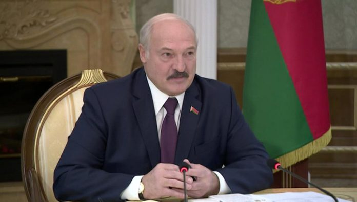 Lukashenko has compared his rival in the elections with a boar