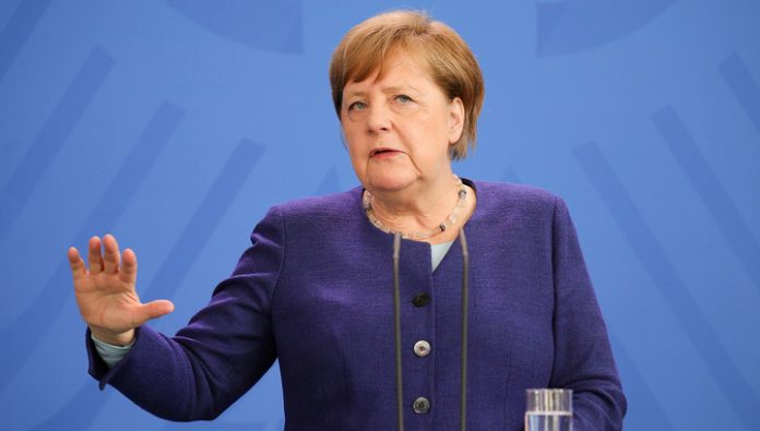 Merkel expressed support for dialogue with Russia and the loss of U.S. global leadership