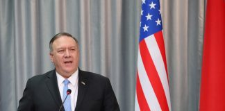 Mike Pompeo has congratulated Russians on Day of Russia