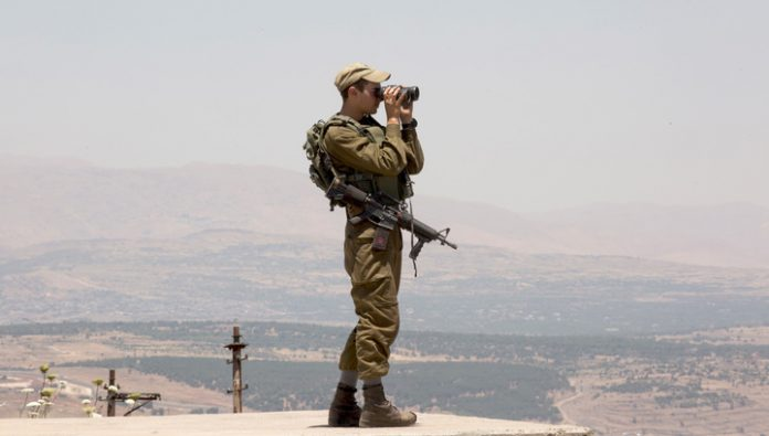 Military Israel defense forces stopped the convoy of Prime Minister of Palestine