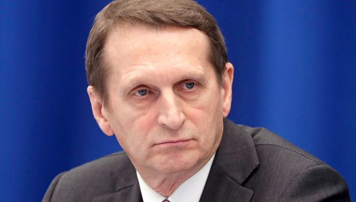 Naryshkin announced a response to the expulsion of diplomats from the Czech Republic