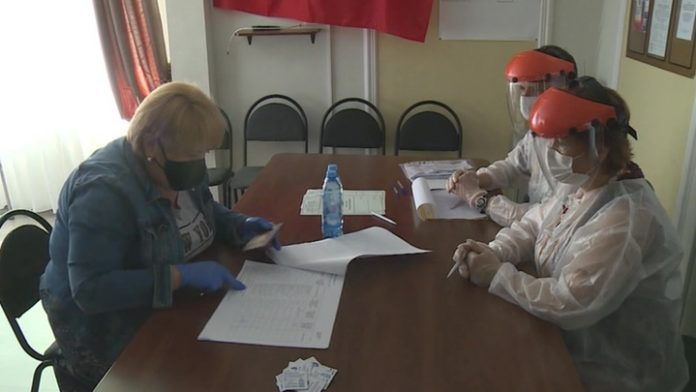 On the island of Kizhi is a unique polling station