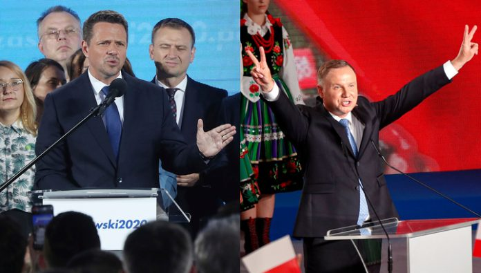 Poland will have to conduct a second round of presidential elections