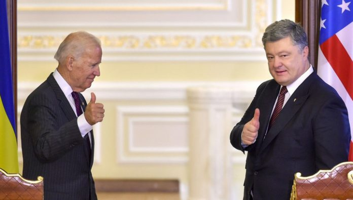 Published the second part of the telephone conversation Poroshenko with Biden