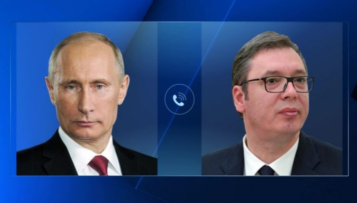 Putin and Vucic had a phone conversation