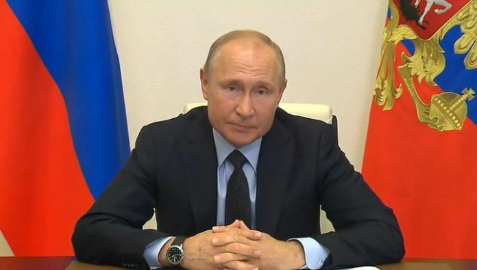 Putin wished Drozdenko success in the elections of the Governor of the Leningrad region
