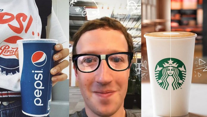 Starbucks and Pepsi will support a boycott of Facebook