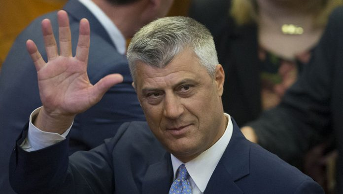 Thaci refused to stay in Washington