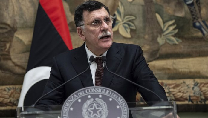 The head official of the Libyan government hastily departs to Moscow
