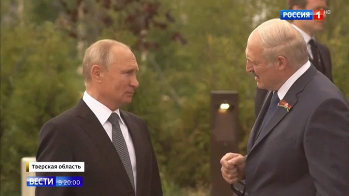 The meeting of Putin and Lukashenko Rzhev: exclusive details