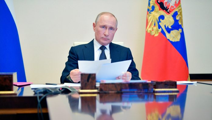 The President of Russia wrote an article about the Second world war
