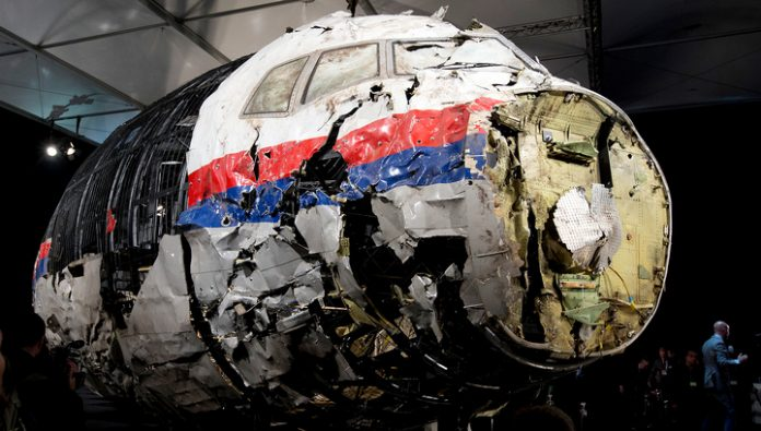 The radars didn't notice the missile or aircraft in the area of the crash of flight MH17