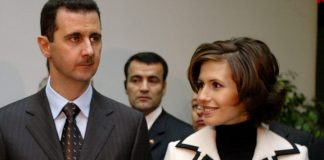 The United States adopted sanctions against Assad and his wife