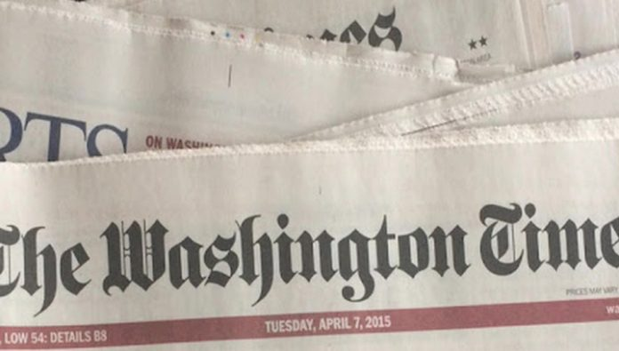 The Washington Times reprinted a fragment from Putin's article about the Second world