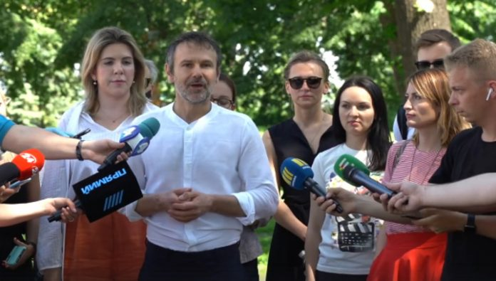 Vakarchuk leaves of the Verkhovna Rada
