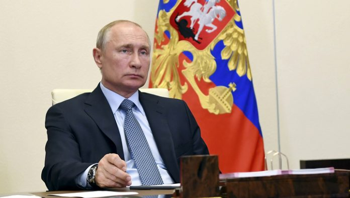 Vladimir Putin will give a televised address