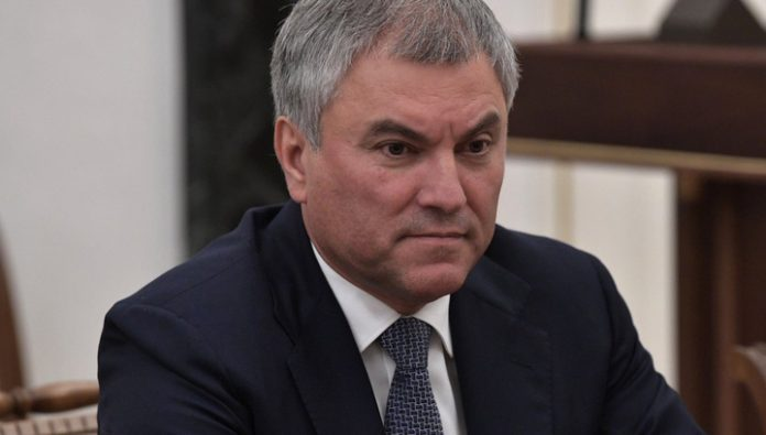 Volodin said opponents of the amendments