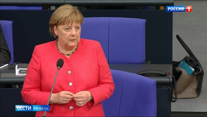 Merkel changed her mind enrage and appease the Makron
