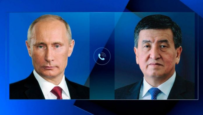 Putin held talks with President of Kyrgyzstan