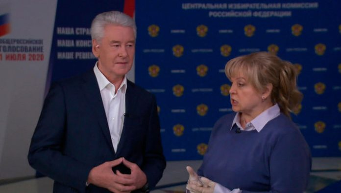Sobyanin and Pamfilova - about remote voting on amendments to the Constitution. Exclusive interview