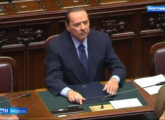 With Silvio Berlusconi figured out on orders from above